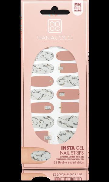 Nanacoco Insta Gel Nail Strips