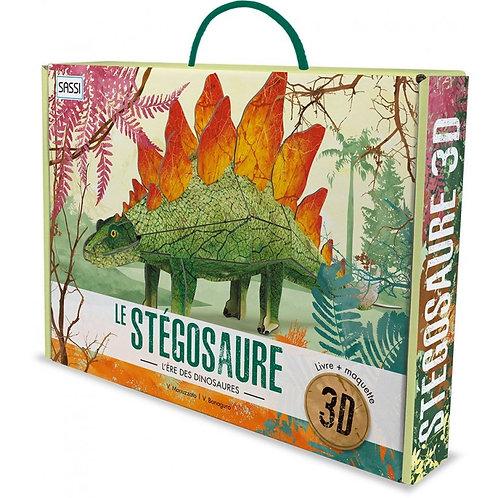Le stégosaure 3D. L'ère des dinosaures - SASSI