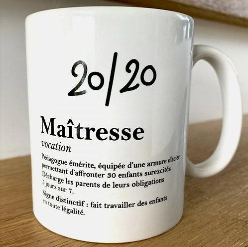 Mug Maîtresse Definition