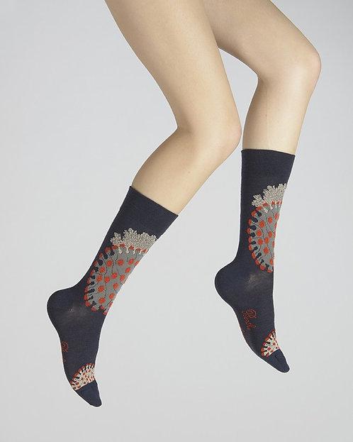 Chaussettes corail des mers chaudes - Berthe aux grands pieds