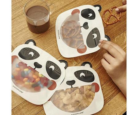 Sac réutilisables Panda - Kikkerland