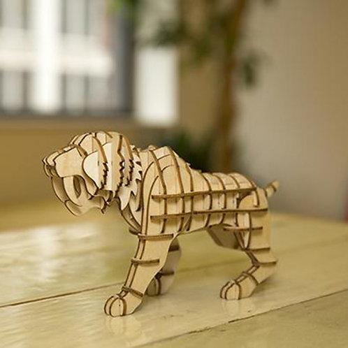 Puzzle 3d tigre - kikkerland