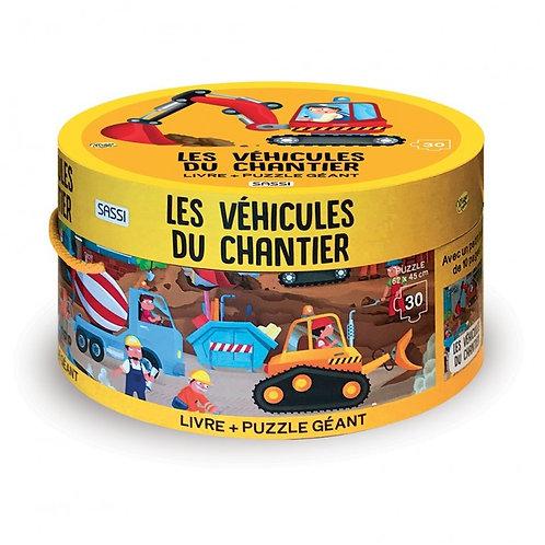 Puzzle Les véhicules du chantier - SASSI