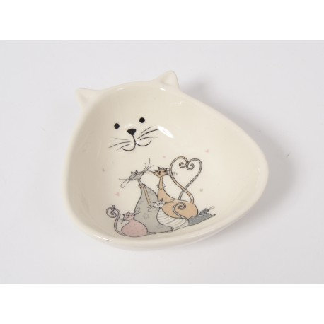 SILVESTRE coupelle chat 13cm - Home edelweiss