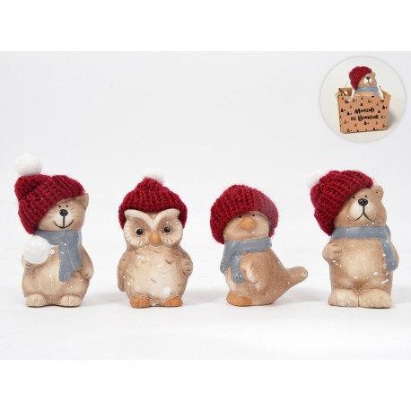 Petits sujets de Noël dans leur sac - HOME EDELWEISS