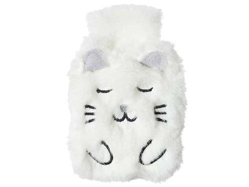 Chaufferrette chat blanc- Le studio