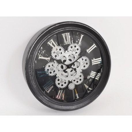 Horloge AUSTERLITZ  à engrenages 34cm - Home edelweiss