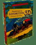 Construis la locomotive 3D. L'histoire des trains - SASSI