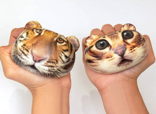 Balle anti-stress tigre - Kikkerland