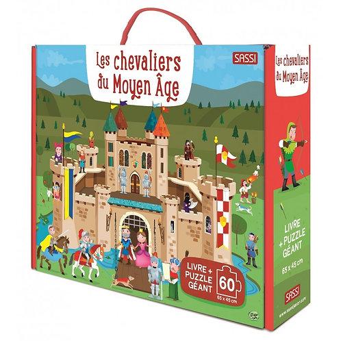 Puzzle Les Chevaliers du Moyen-Age - SASSI