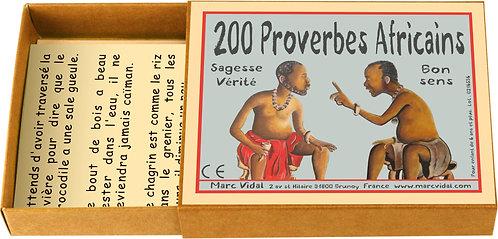 200 proverbes Africains - MARC VIDAL