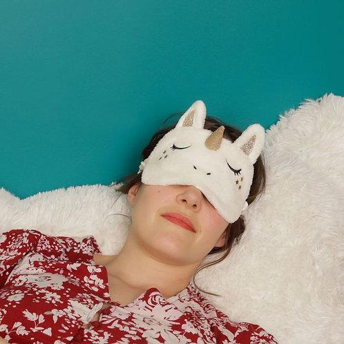 Masque de nuit licorne - La chaise longue