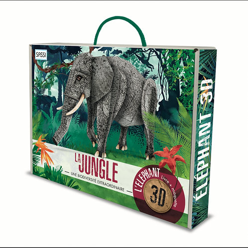 L'éléphant 3D. La jungle. Une biodiversité extraordinaire - SASSI