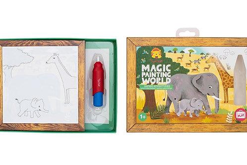 MAGIC PAINTING WORLD -Safari adventures