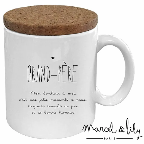 MUG - GRAND-PÈRE - Marcel et Lily