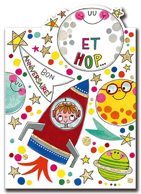 CARTE DOUBLE KIDS RACHEL ELLEN