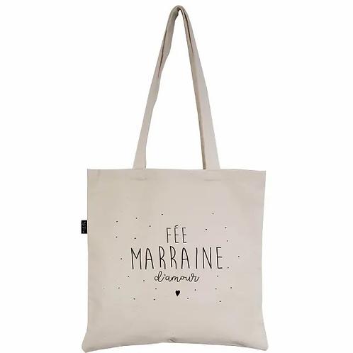 TOTE BAG - FÉE MARRAINE - Marcel et Lily