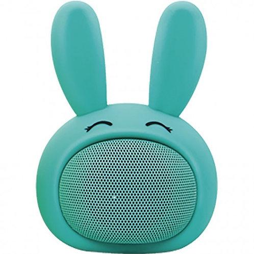 Enceinte Bluetooth Lapin Turquoise MOB