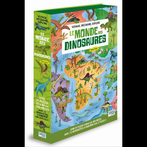 Voyage, découvre, explore. Le monde des dinosaures - SASSI