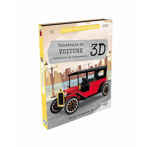 Construis la voiture 3D. L'histoire de l'automobile - SASSI