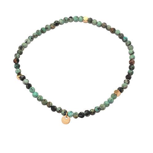 Bracelet pierres agates - Ikita
