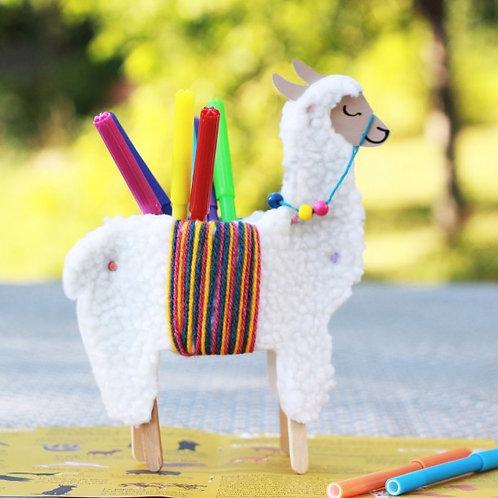 Le kit créatif : créer un joli lama