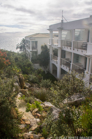 Staying at: The Twelve Apostles Hotel.