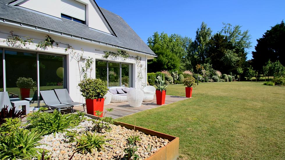 Splendide villa contemporaine nichée au coeur du golf de La Baule