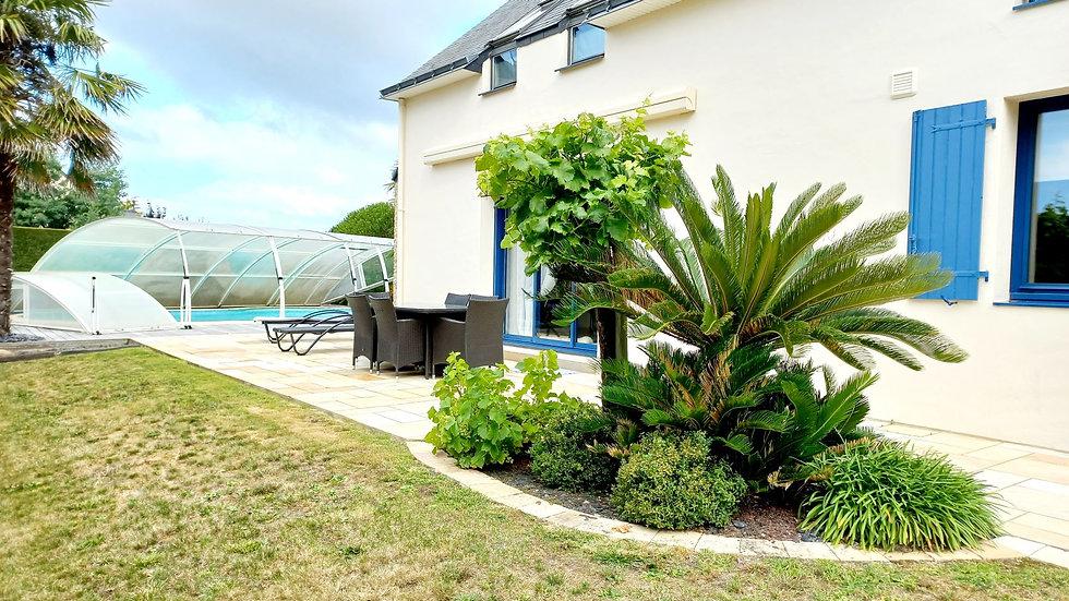 Agréable maison familiale aux pieds des remparts de Guérande