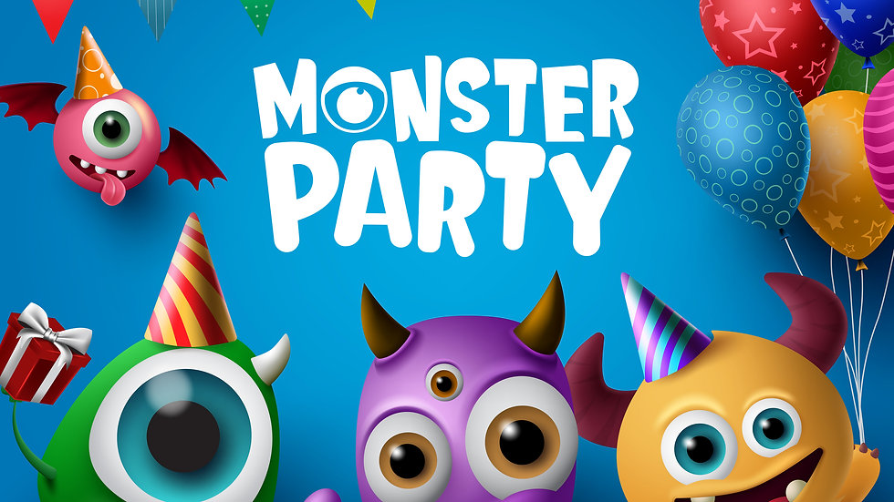 Monster Party (3-6 yrs)