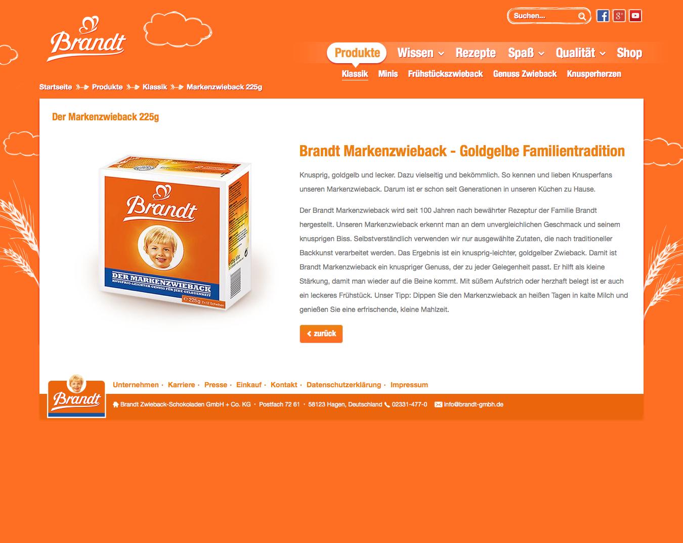 Website-Text