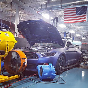 2015 Mustang GT with Twin 61mm Turbochargers