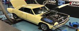 1966 Chevelle with 454ci Engine and 871Supercharger with Dual Holley Carburetors