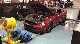 2013 GT500 with Air Intake