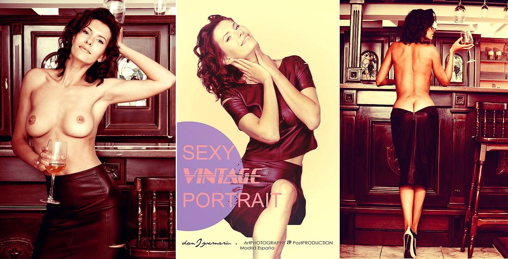 Vintage Colors Exquisite Sexy portrait for website