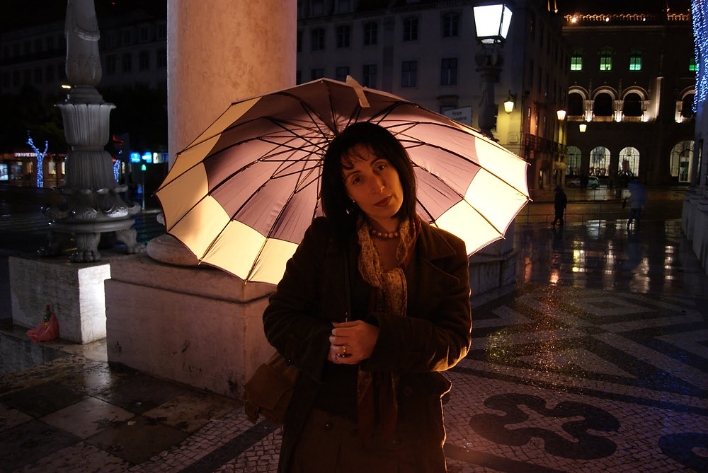 Doris Izvernariu , home Lisboa