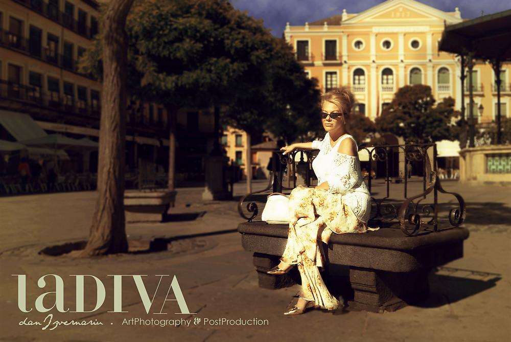 Modelling: Madalina Manta (2018) Segovia Vintage Iberic Times by danIzvernariu .  , Segovia 2018