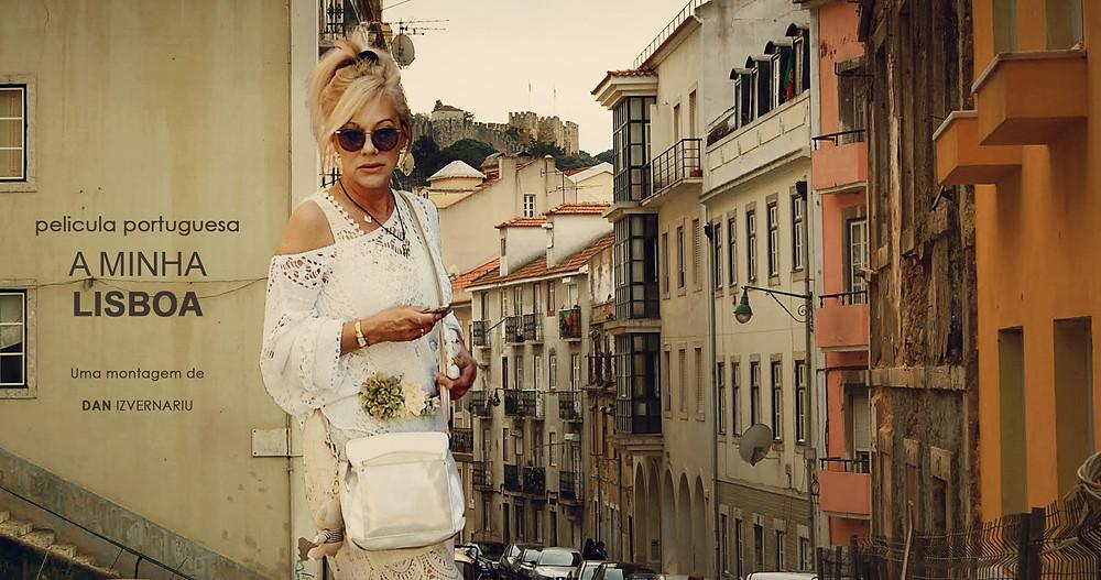 Tema da fotografia: Pelicula de filme vintage Pós-processamento: danIzvernariu .  Outubro de 2018 Modelo : Madalina Manta Background : Bairro Graça de Lisboa, Portugal