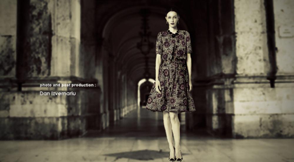 Paula Miranda for JAGUAR sType promo
