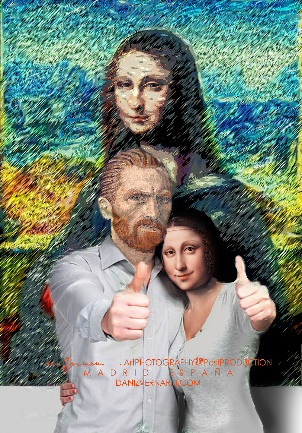 Vincent & GIOCONDA Theme, Madrid 2014 by danIzvernariu.