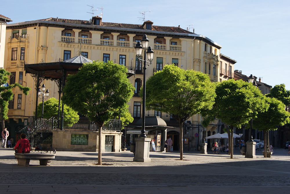 Praça Mayor, Segovia 2018 , by Dan izvernariu