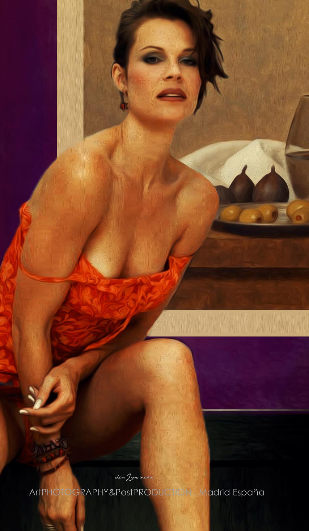 DANIZVERNARIU.COM Modern paintings , canavas texture in Photoshop by (Me). Para estudiar y realizar Los artistas necesitan tener inspiración, pero también matriciales. ¿Quieres ser mi modelo?
