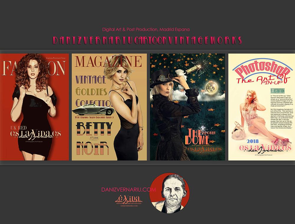 Vintage Posters PsCs by Dan Izvernariu, Madrid España 2018