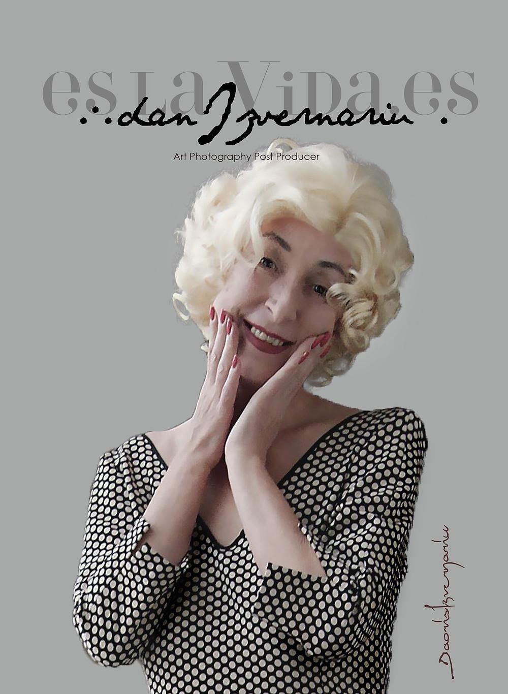 Doris Izvernariu (Marlyn) New Look Project by M ∴ B ∴Dan Izvernariu (Merlin) Madrid 2018 Ian No Photoshop