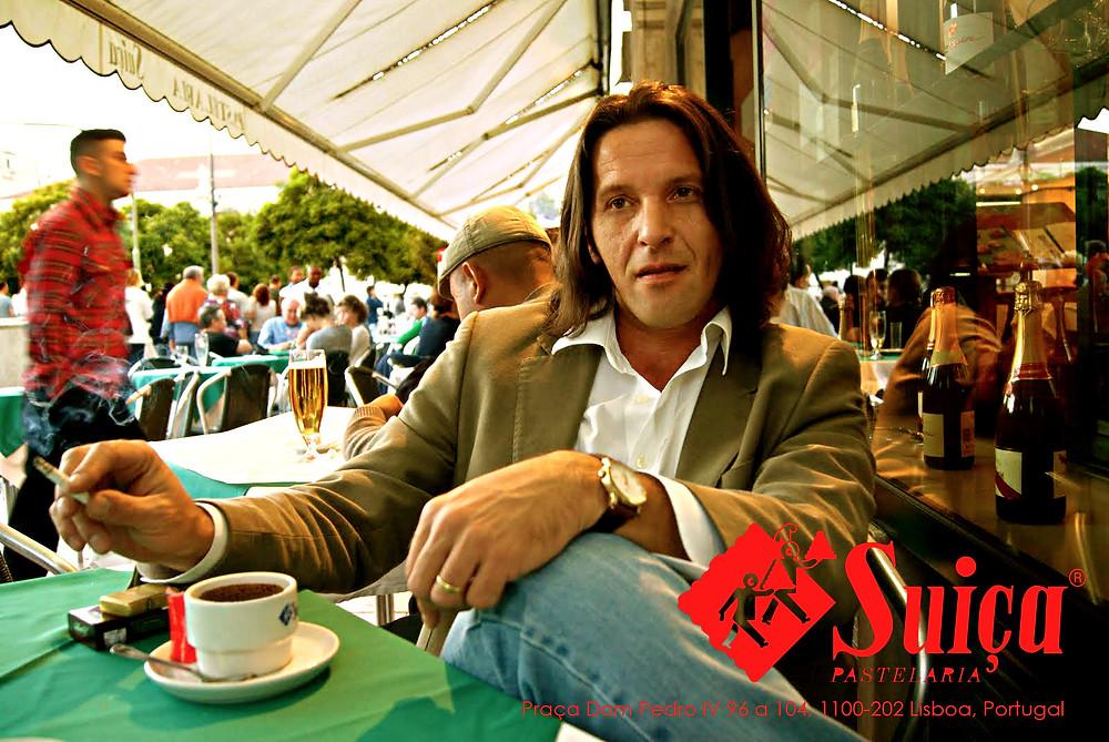 Dan Izvernariu , Home Lisboa 2010 Sept. Photo by: Doris Izvernariu, Pastelaria Suiça centro da cidade