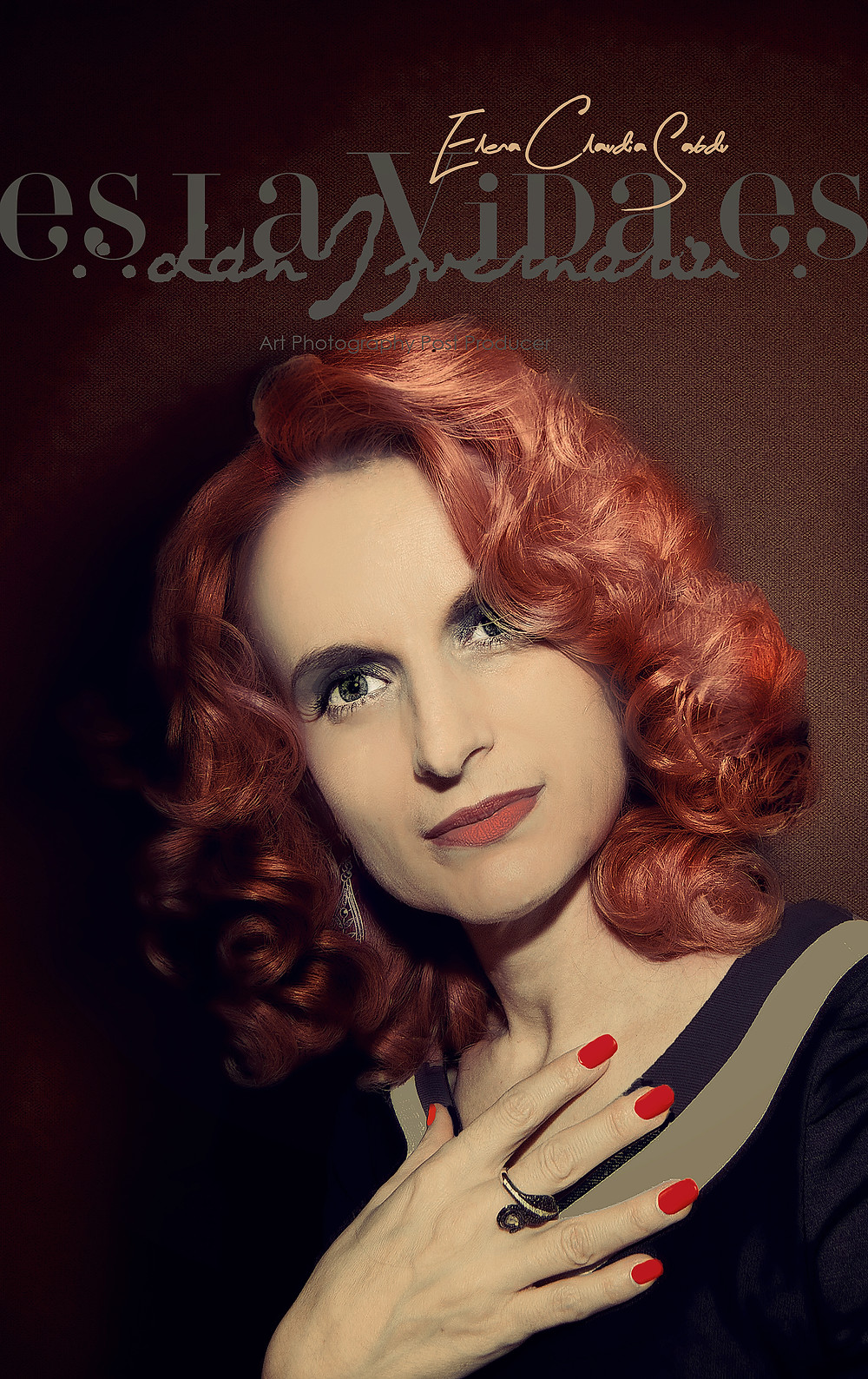 1940s Vintage Claudia by Dan Izvernariu Nov. 2017 Madrid
