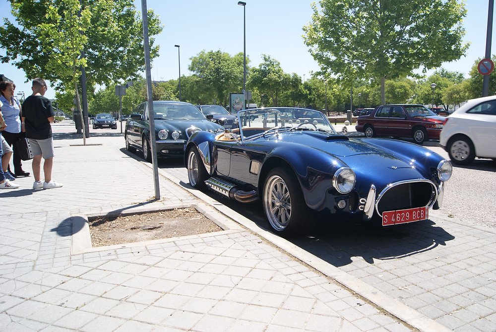 Chanoe Classic Auto Showroom , Madrid España summer 2018