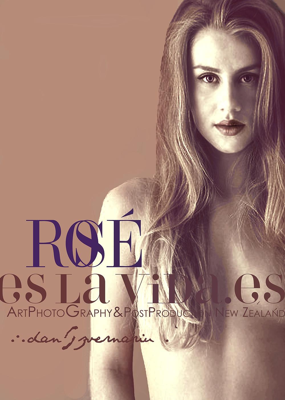 Old Rose portrait post production PsCss by Dan Izvernariu, Madrid 2017