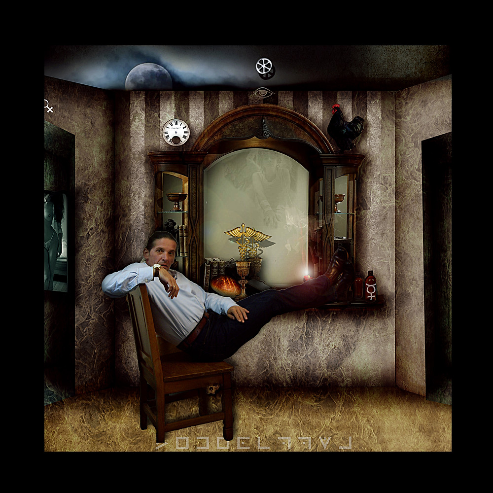 Reflections Room 101 . Masonic theme . Photoshop by Dan Izvernariu 2011 Wellington New Zealand
