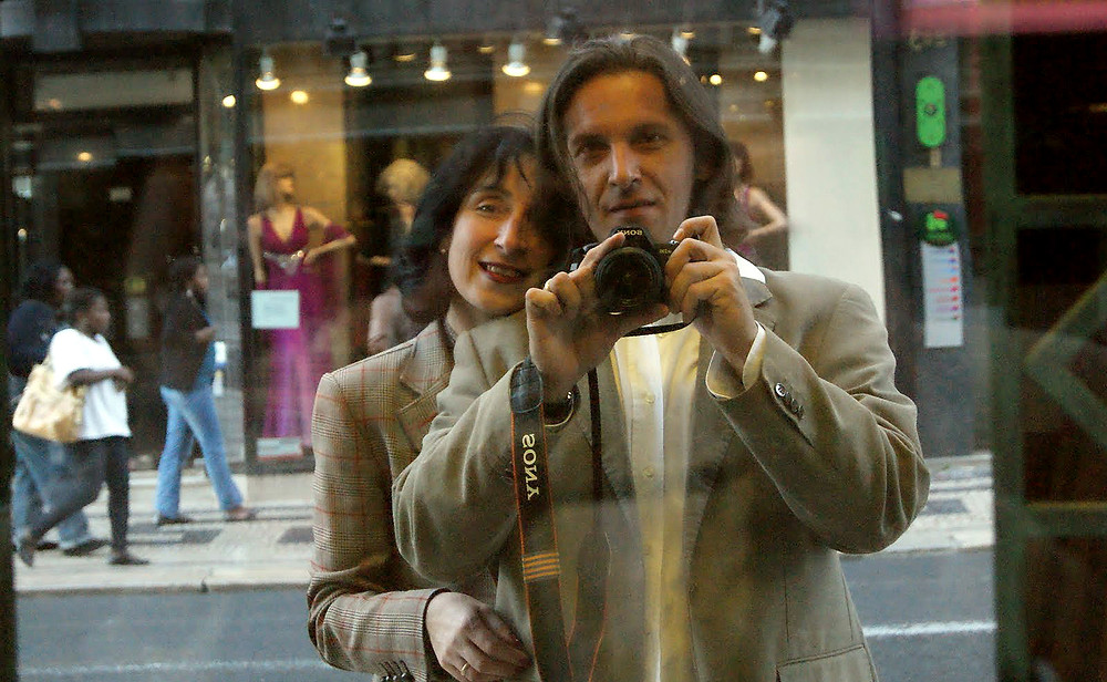 Doris & Dan Izvernariu 2010 , home: Lisboa ,Rua Auréa